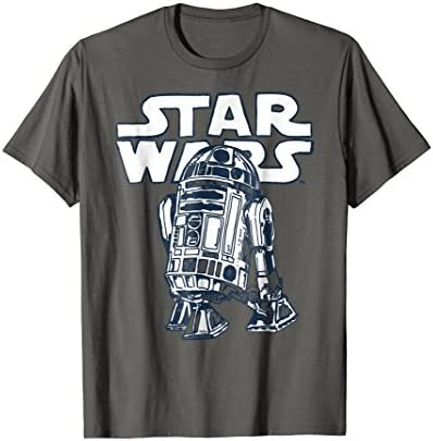 Star Wars R2 D2 Vintage Style Graphic T Shirt C1 product image
