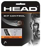 Head Rip Control Nero 12m Stringa da Tennis multifilamento 1.30mm...