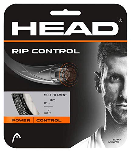 HEAD Rip Control Noir 1.25mm 12m Corde de Tennis...