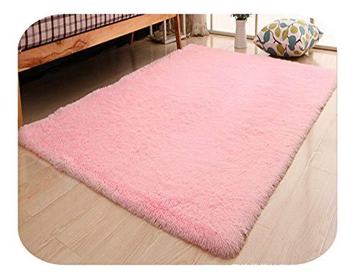 Kinderspieldecke, Wohnzimmer/Schlafzimmer Teppich Anti Skid Soft-150cm * 200cm Teppich Moderne Mat Lila Weiß-Rosa-Grau 11 Farbe, 08,120x200cm