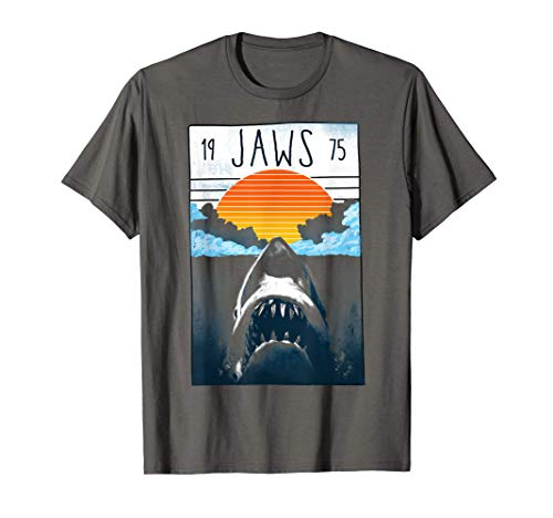 * NEW * Adults of Kids Jaws Blood Ren Sun T-shirt in 6 Colours
