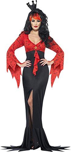 Kostuum boze koningin met vleermuisjurk, Large