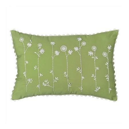 Springmaid Green Decorative Pillow