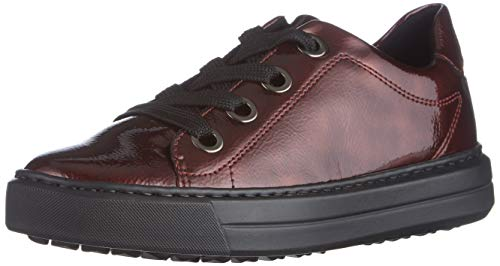 ARA Damen Courtyard Sneaker, Rubin,36.5 EU Weit