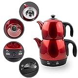 Elektrische Moderne Teemaschine Wasserkocher mit autom. Abschaltung & Warmhaltefunktion und