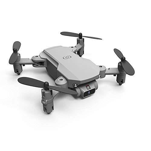 2021 Nuevo Mini Drone 4k 1080p Cámara HD WiFi FPV Presión De Aire Alta Hold Black and Grey Quadcopter Foldcopter RC Dron Toys, Liqingshangmao (Color : 4K Black 3B Bag)