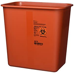 buy  Kendall Sharps Container with Rotor Lid – 2 ... Diabetes Care