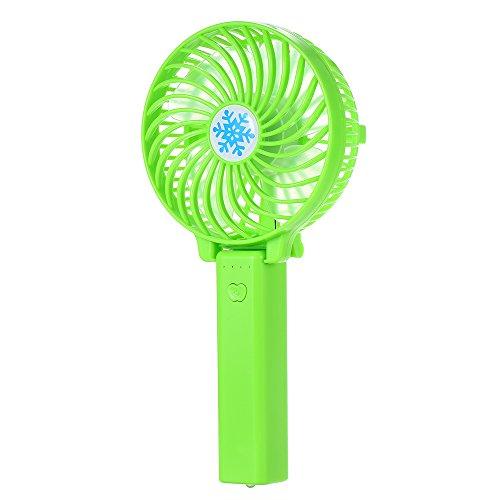 Blusea Portatile Ventilatore USB Pieghevole 18650 Batteria Ricaricabile Ventilatore di Aria condizionata Ventilatore Pieghevole Mini Ventilatore Portatile tenuto in Mano per la casa Esterna