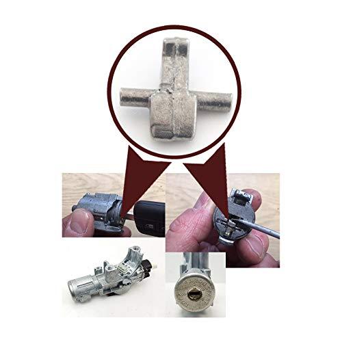 EDP658-1 - Juego de 10 piezas para cerradura de dirección de encendido N0502823 para N.i.s.a.n Qashqai Micra Almera Primera Juke Navara Note Pathfinder