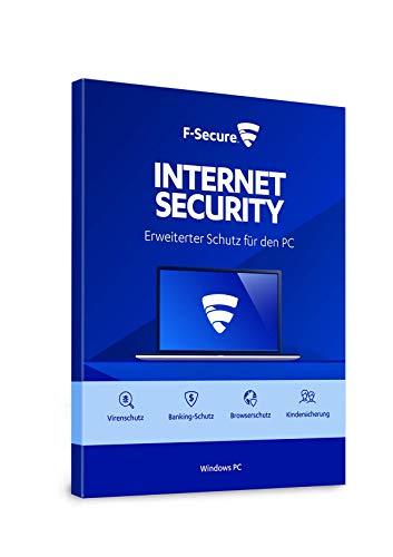 F-Secure Internet Security 2020 - 1 Jahr / 3 Geräte für PC [Online Code]