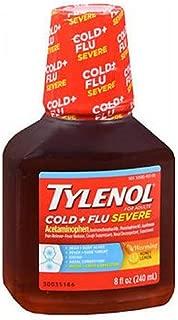 Tylnl Cld Flu Warming Hny Size 8z Tylenol Cold & Flu Server Liquid Warmming Honeylemon 8z