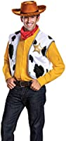 Disguise Men's Woody Deluxe Adult Costume Kit