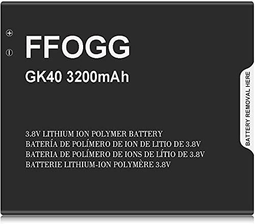 GK40 Battery for Motorola,FFOGG Higher Capacity 3200mAh Replacement Batter for Moto E3, Moto E4, Moto G4 Play XT1607, Moto G5 XT1601, XT1603, XT1675