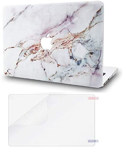 KECC Laptop Case Compatible with MacBook Air 13 Retina 2021 2020 2019 2018 Touch ID w Screen product image