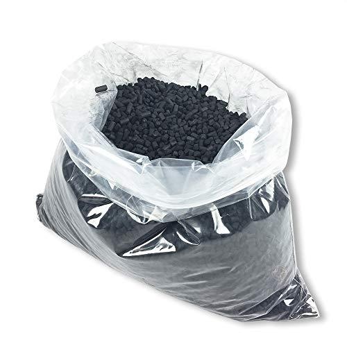 KRUSE-FILTER | Nachfüllpack Aktivkohle | 4 kg Alternativkohle ähnlich Pro Aktiv 150 Kohle für Umluft (€9,98/kg)