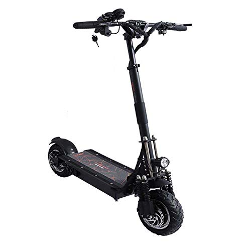 Zzzy Patinete Electrico Adulto Scooter Plegable Todoterreno de Doble Unidad 2000W/3200W con...