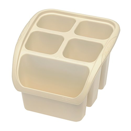 OKT 2053767 Panier aux vaisselles en créme Plastique