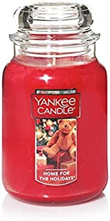 Yankee Candle Large Jar Candle, Home For The Holidays