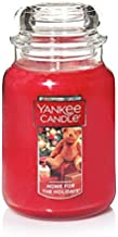 Yankee Candle Large 2-Wick Tumbler Candle, Cascading Snowberry Large Jar 1199580Z