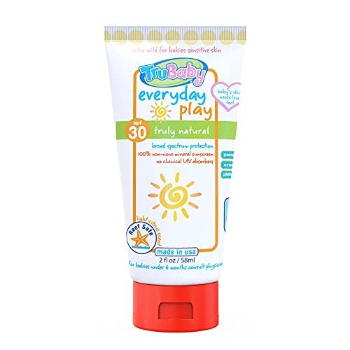 TruBaby Everyday Play SPF 30+ UVA/UVB Protection Sunscreen Body...