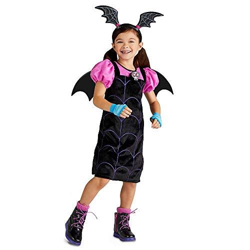 Disfraz de vampirina de Disney para niñas