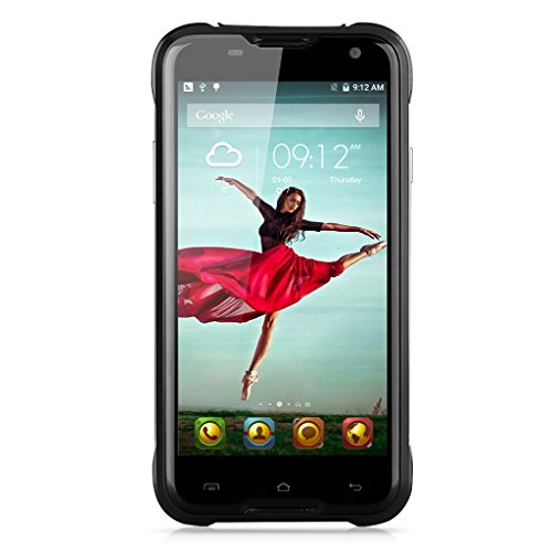 """Blackview BV5000 IP67 impermeabile Smartphone 4G FDD-LTE 3G WCDMA Shockproof antipolvere Rugged Outdoor Drfy Android 5.1 OS Quad Core MTK6735P 5.0 """"IPS 1.0GHz schermo 64bit"""
