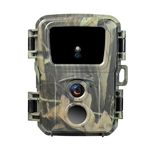 Trail Caza Cámara Hd Seguimiento 20MP 1080P HD Juego al aire libre Visión nocturna 38pcs 940nm negro Luces Monitoreo Impermeable IP54 para Descubrimiento de Vida Silvestre