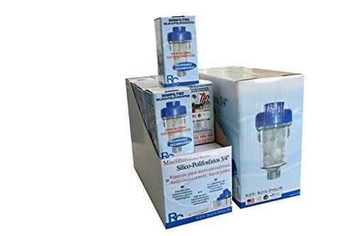 RC BOX-PH10B Minifiltro Silicofosfatos para Electrodomésticos, 3/4