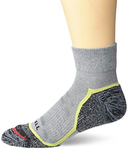 Merrell - Calcetines acolchados para hombre (1 unidad) - Gris - Medium/Large