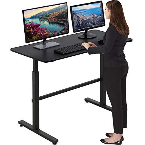Standing Desk Computer Desk Converter Height Adjustable Desk Computer Workstation Large Desktop Stand Up Desk Ergotron Laptop Sit-Stand Desk Fit Dual...