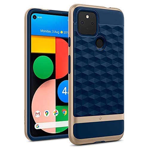 Caseology Parallax for Google Pixel 4a 5G Case (2020) - Navy Blue
