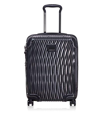 Tumi Latitude International Slim Hardside Carry-on Luggage 22 Inch Rolling Suitcase for Men and Women, Black (Black) - 98558-1041