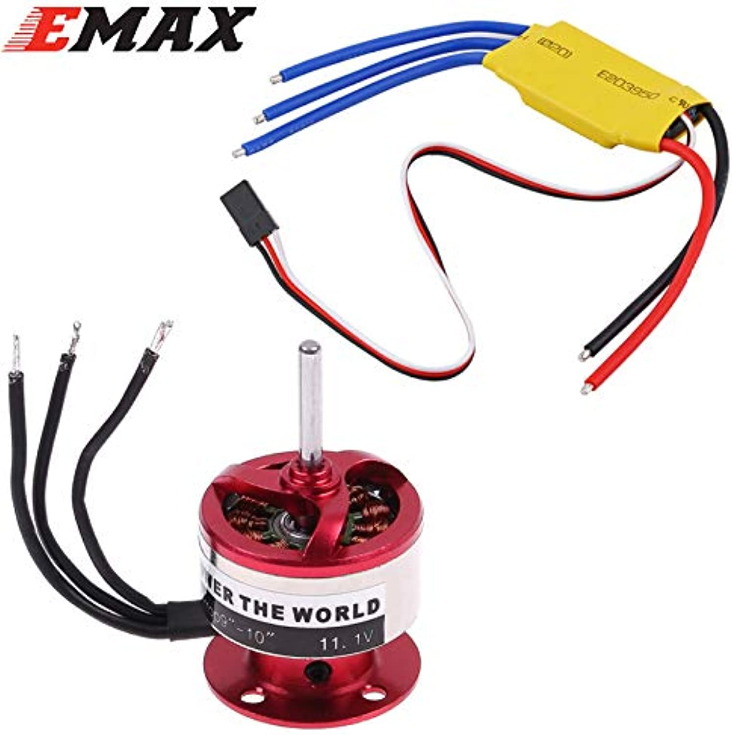 Laliva CF2822 1200KV Outrunner Motor + XXD 30A ESC for Rc Airplane