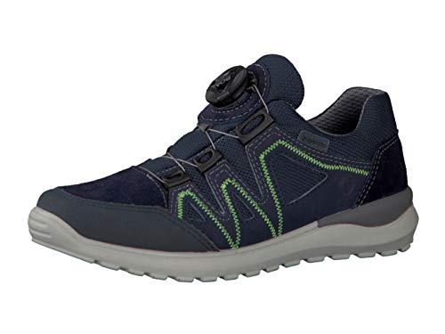 RICOSTA Pepino Jungen Sneaker LEED, WMS: Mittel, wasserfest, Halbschuh sportschuh Slipper Gummizug atmungsaktiv Kind-er,Nautic/Ozean,37 EU / 4 UK