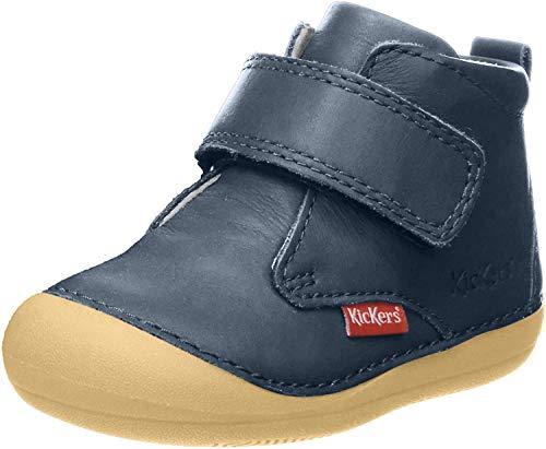 Kickers Unisex Baby Sabio Stiefel, Blau (Marine Foncé Perm 102), 25 EU