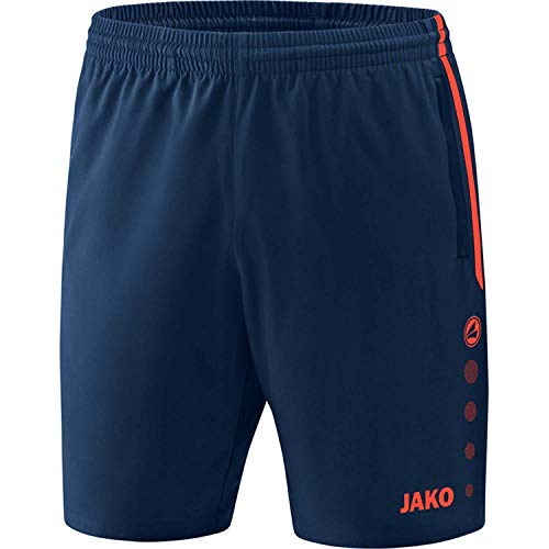 JAKO , Training & Fitness - Kinder , Shorts , Competition 2.0 , navy/flame , 128 , 6218
