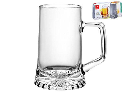 BORMIOLI ROCCO Set 6 X 2 Bicchieri In Vetro Stern Con Manico Cl51 Arredo Tavola