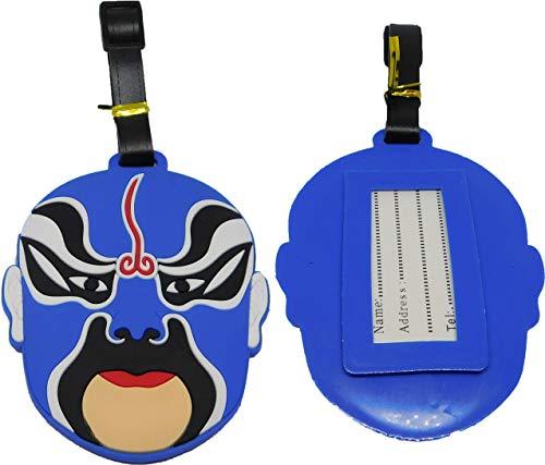 Maske Voodoo Wrestling Kofferanhänger Reisetasche Tasche Anhänger Adresse Reise