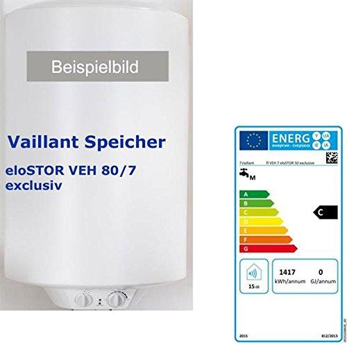 Vaillant eloSTOR VEH 80/7 exclusiv druckfester Warmwasserspeicher 80 Liter > 0010016662