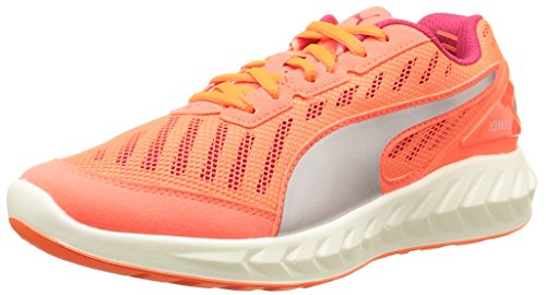 Puma Damen Ultimate IGNITE Laufschuhe, Orange (fluo peach-rose red 01), 38 EU