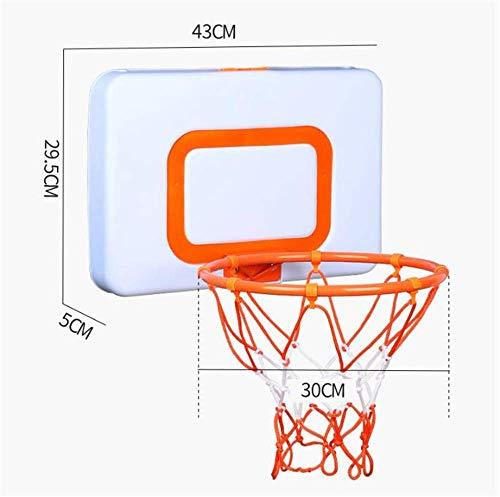 Chunlan Kinder-Basketball und das Rückenbrett Set, Innen- und Außen Home Office Wand- Basketball-Rack, Tür Basketball-System mit Netz, Werden kann angehoben und abgesenkt MEI