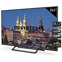 Televisores LED 39,5 Pulgadas TD Systems K40DLX10F. 3X HDMI, VGA, USB Grabador Reproductor, DVB-T2/C/S2