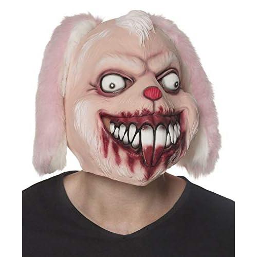 Boland 97566 - Maschera da Testa in Lattice, Motivo: Coniglietto, Colore: Rosa