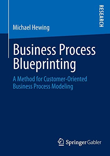 Business Process Blueprinting: A Method for Customer-Oriented Business Process Modeling