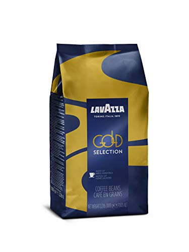 Lavazza Gold Selection Whole Bean Coffee Blend, Medium Espresso Roast, 2.2 Pound Bag 9 One 2.2 pound bag of Lavazza Top Class Italian whole coffee beans Full bodied medium espresso roast with smooth, balanced flavor and notes of dark chocolate and cinnamon Blended and roasted in Italy