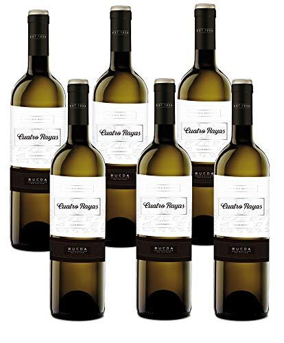 Cuatro Rayas Sauvignon Vendimia Nocturna - 6 Botellas de 750 ml - Total: 4500 ml
