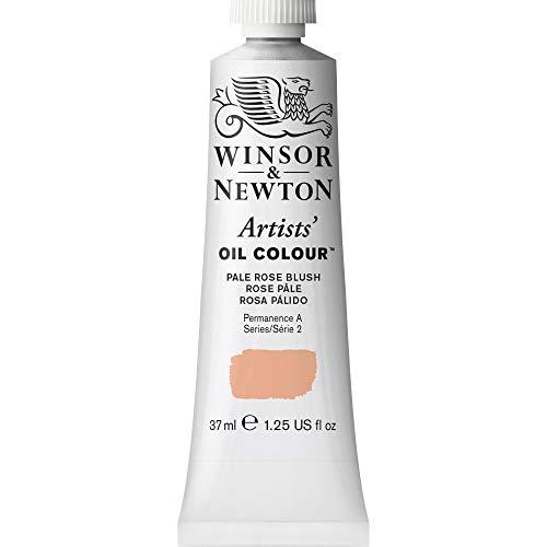 Winsor & Newton Artists' Oil Color Paint, 37-ml Tube, Pale Rose Blush