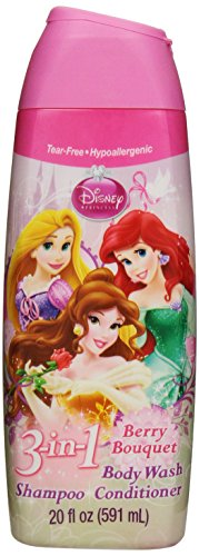 Disney Princess Disney Princess 3 In 1 Body Wash, 20 Ounce