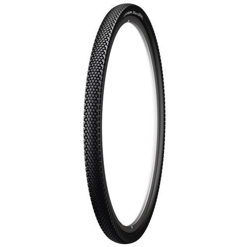 Michelin Reifen Star Grip Draht Reflex Fahrrad Bereifung, Schwarz, 28 Zoll