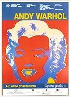 ポスター アンディ ウォーホル Un Mito Americano 額装品 アルミ製ハイグレードフレーム(ホワイト)